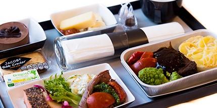 ta med mat på flyget sas